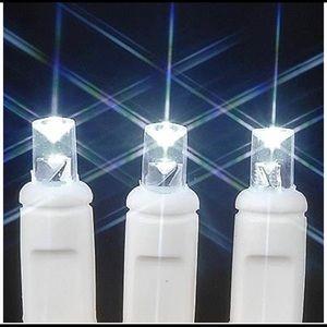 5 sets of 100 Light Pure White LED Mini Light Set